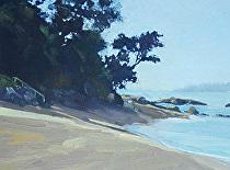 Matheson Bay Cove by Joe Garcia Oil ~ 6 x 8