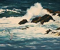 Storm Break by Joe Garcia Oil ~ 20 x 24