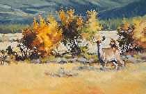 Autumn Splendor by Joe Garcia Oil ~ 14 x 21