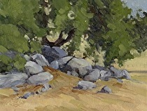Still Life, Santa Ysabel Preserve West by Joe Garcia Oil ~ 6 x 8