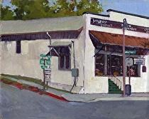 Miner's Diner, Julian by Joe Garcia Oil ~ 8 x 10