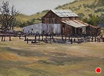 Santa Ysabel Legacy  91.896 by Joe Garcia Oil ~ 9 x 12