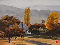 Old Homestead by Joe Garcia Oil ~ 12 x 16