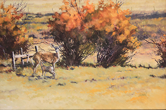 Down in the Valley - Oil