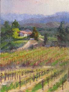 "Daily Painting,""Van Roekel View"" by gabriele baber Oil ~ 8 x 6"