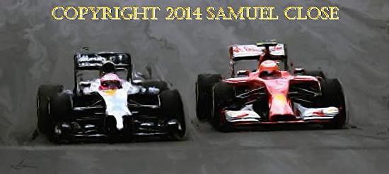 Formula One, Monte Carlo - Mixed Media