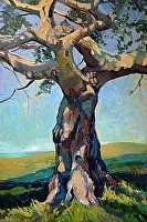 Tree of Life by Susan Pitcairn Oil ~ 36 x 24