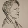 Malene Portrait Drawing