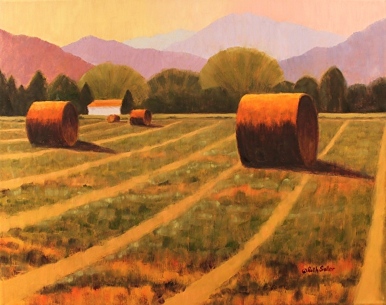 Centennial Farm Haybales - Oil