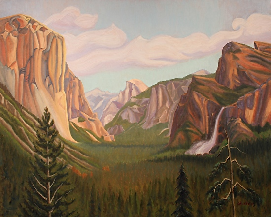 Yosemite Valley - Oil