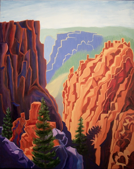 Black Canyon of Gunnison - Oil