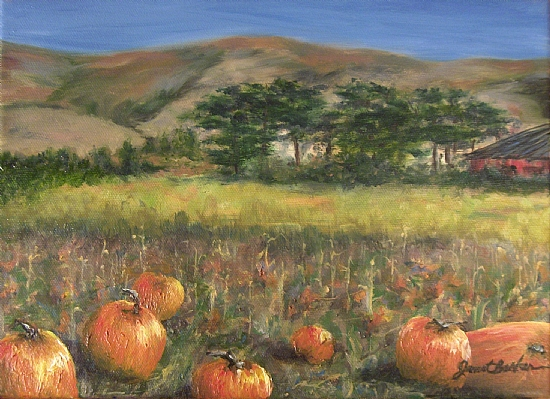 The Pumpkin Patch - Oil