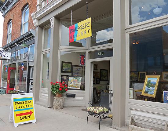 Barker Gallery, Salida 6-14 -