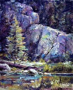 Jemez Morning by James Roybal Pastel ~ 20 x 16