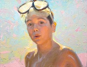 Jude by Frank Ordaz Oil ~ 7 x 9