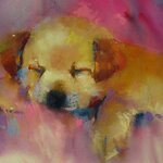 Frankie Johnson - Watercolor & Pastels / A Match Made in Heaven