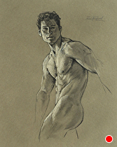 Figure Drawing..031203 by Ron Griswold  ~  x