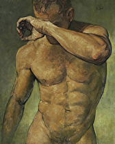 FIgure Study 061813 by Ron Griswold Oil ~ 20 x 16