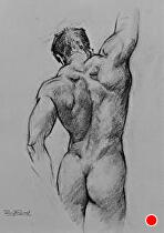 Figure Drawing... by Ron Griswold Charcoal ~  x