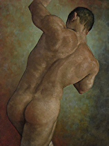 Figure Study..101613 by Ron Griswold Oil ~ 24 x 18
