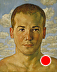 Portrait of a Beach Boy by Ron Griswold Oil ~ 10 x 8