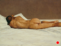 Reclining Nude by Ron Griswold Oil ~ 24 x 18