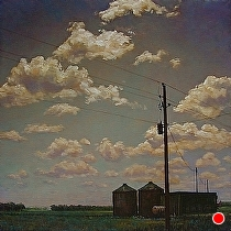 Transformer by Ron Griswold Oil ~ 36 x 36