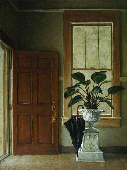 Studio Door by Ron Griswold Oil ~ 24 x 18