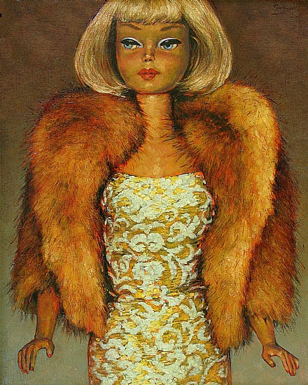 Mink by Ron Griswold Oil ~ 20 x 16