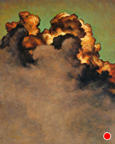 Cloud Study..102211 by Ron Griswold Oil ~ 20 x 16