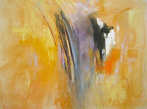 Abstract 6-08 by Diana Sanford Pastel ~ 18 x 24