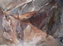 "Canyon Series #1 by Diana Sanford Pastel ~ 18"" x 25"""