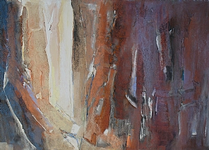 Canyon Series #2 by Diana Sanford Pastel ~ 21 x 28 framed