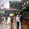 Market Rain