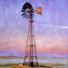 Panhandle Rising by Richard Alan Nichols Oil ~ 36 x 30