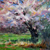 Spring Blossoms by Richard Alan Nichols Oil ~ 16 x 20