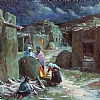 Heritage Hearth and Honor by Richard Alan Nichols Gicle'e ~ 30 x 30