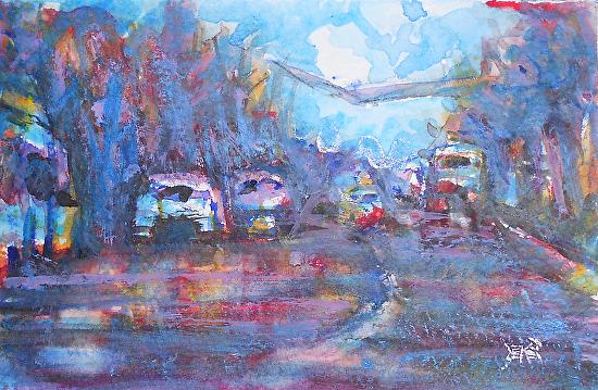 rush - Watercolor