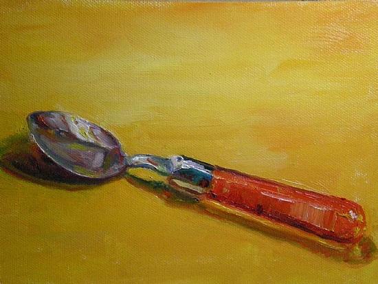 Spoon Before Breakfast - Oil