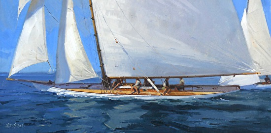 Sunday Regatta  - Oil