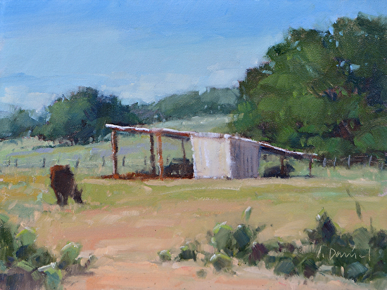 Fall Pasture - Oil
