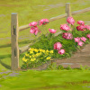 Peonies and Sundrops