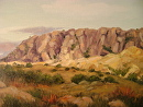 Mesa by  Oklahoma Lady Artists Oil ~ 12 x 16