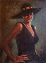 Attitude by  Oklahoma Lady Artists Oil ~ 16 x 12