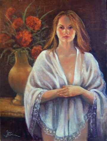 Serenity by  Oklahoma Lady Artists Oil ~ 16 x 12