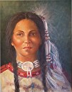Native Pride by  Oklahoma Lady Artists Oil ~ 20 x 16