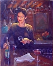 Last Call by  Oklahoma Lady Artists Oil ~ 24 x 18
