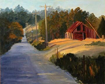 Oklahoma Hills by  Oklahoma Lady Artists Oil ~ 16 x 20