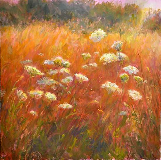 Queen Anne's Lace #9 - Oil