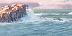 """""""Nahant Series #3: Snow Squall over Swampscott"""" by John Ursillo"""